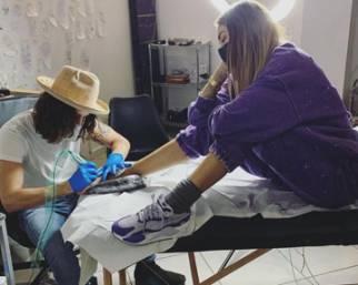 Melissa Satta, nuovo tattoo dopo la separazione