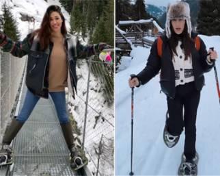 Natale 2020: le vacanze di Belen sulla neve