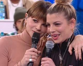 Emma e Alessandra Amoroso tornano ad Amici