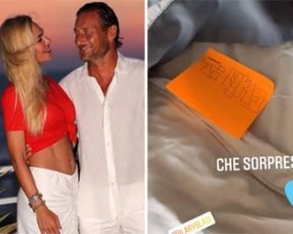 Ilary Blasi, romantica sorpresa per Totti