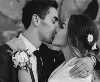 Palmas e Magnini, le nozze segrete