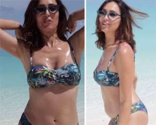 Caterina Balivo si mostra in bikini