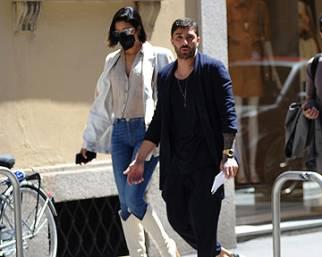 Iannone con la presunta fidanzata a Milano