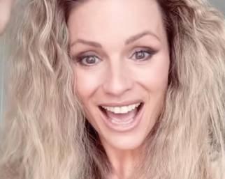 Michelle Hunziker, la reazione alla vittoria dell'Italia