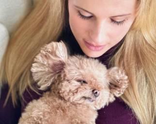 E' morta Lilly la cagnolina di Michelle Hunziker