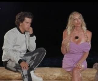 Bisciglia a muso duro al falò di Tommaso e Valentina