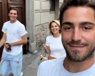 Tommaso Zorzi e il fidanzato, presentazioni in famiglia