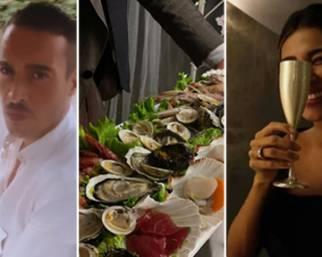 Belen e Antonino, cena da sogno per un anno d'amore