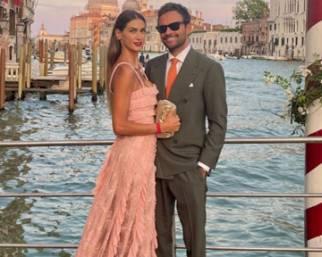 Melissa Satta innamorata a Venezia con Mattia