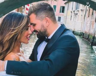 Guendalina Tavassi innamorata a Venezia con Federico