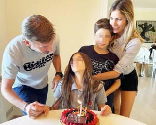 Max Biaggi ed Eleonora Pedron insieme per i figli