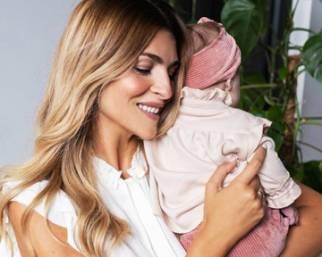 Cristina Chiabotto, prime foto con Luce