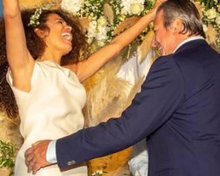 Afef si è sposata per la quarta volta