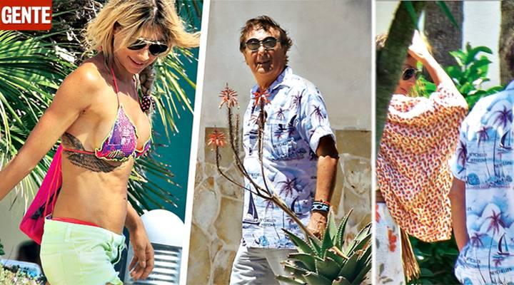 Maddalena Corvaglia ed Enzo Iacchetti in coppia - Gossip.it